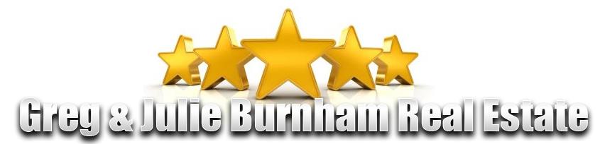 Greg & Julie Burnham Real Estate Five Star Reviews