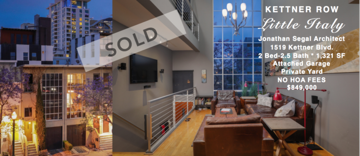 Kettner Row Sold